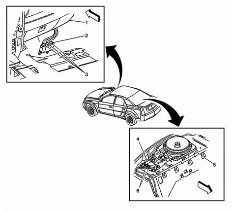 where is the location of the bcm moduale on cadillac cts 2003 3 2l and how do i