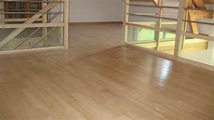 Plancher Bois Pas Cher : plancher flottant bois massif le bois chez vous ~ Premium-room.com Idées de Décoration