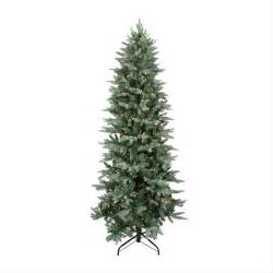 9 ft pre lit washington frasier fir slim artificial christmas tree clear lights