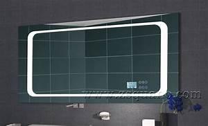 smart mp3 bathroom mirror with led light and bluetooth With miroir salle de bain bluetooth 120
