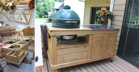 build  rolling cart   grill home design