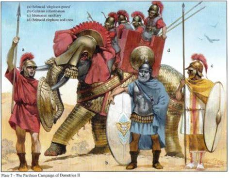seleucid  ptolemaic reformed armies   bc