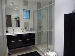 Tendance idee deco salle de bain avec douche a l italienne for Salle de bain design avec image encadree décoration