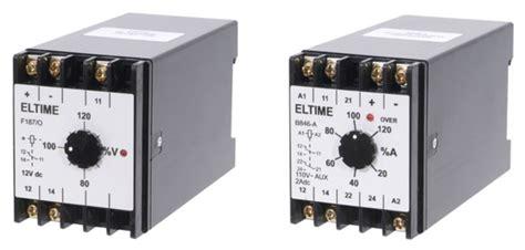 Eltime Voltage Current Protection Relays