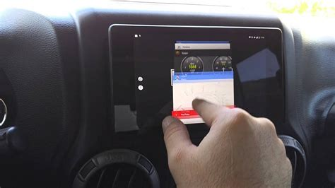 android tablet   jeep wrangler youtube
