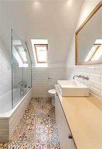 Carreaux Adhesif Salle De Bain : le carrelage scandinave en 18 mod les carreaux pour quelle salle de bain ~ Melissatoandfro.com Idées de Décoration