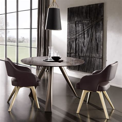 contemporary italian  small dining table  chairs