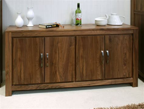 Sideboards Dining Room by Oskar Solid Walnut Home Furniture Large Low Living Dining