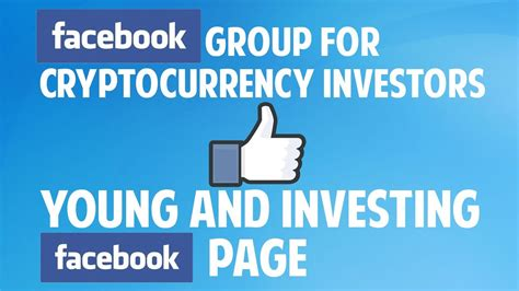 join  facebook group  cryptocurrency investors