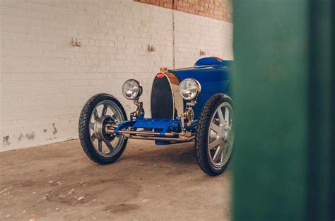 Make mine purple with bright blue leather. Reborn Bugatti Baby is 75% scale classic with 42mph top speed | Autocar