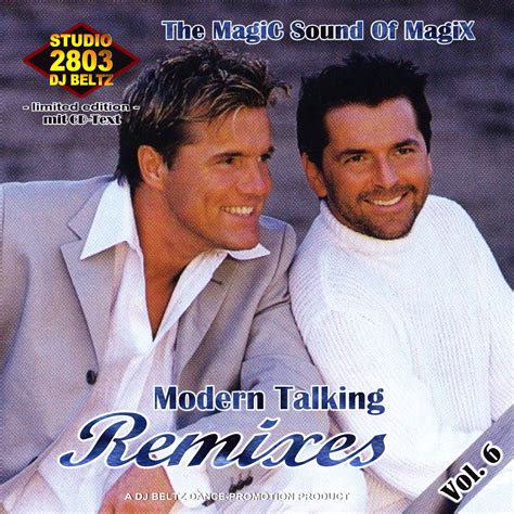 songs of modern talking remixes vol 06 of studio 2803 dj beltz modern talking mp3 buy tracklist