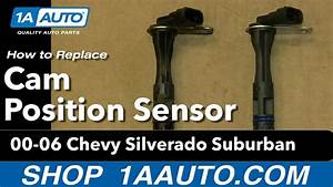 How To Install Replace Cam Position Sensor 5 3l 2000
