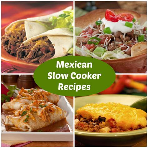 best simple cooker recipes 19 easy mexican slow cooker recipes mrfood com