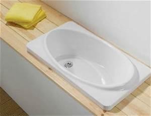 Grande Baignoire Enfant : baignoire pour b b encastr e nivault ~ Melissatoandfro.com Idées de Décoration