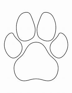 the 25 best dog paw prints ideas on pinterest dog paws With footprint pattern template