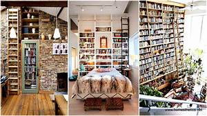 24 Insanely Beautiful Wall Bookshelves For Enthusiast Readers
