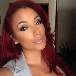 Shantel Jackson – Fiery Hair Color For Summer | Impeccable ...