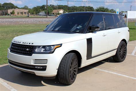 Land Rover Car : Range Rover Car Wraps