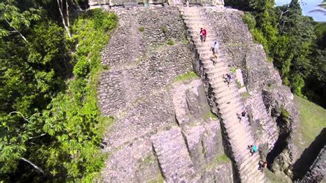 mayan ruins  lamanai belize filmed  xp quadcopter youtube