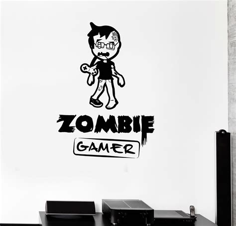 G003 2016 New Fashion Children Room Wall Decal Zombie