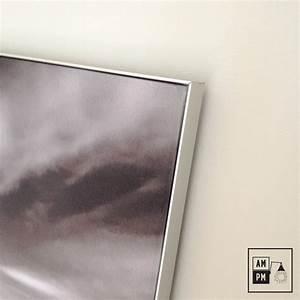 Cadre Photo 60x40 : cadre en aluminium bross avec impression sur toile sublim e am pm ~ Teatrodelosmanantiales.com Idées de Décoration