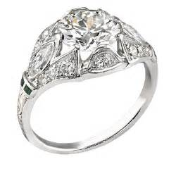 deco vintage engagement rings vintage engagement rings primestyle and jewelry and news