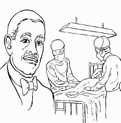 Coloring History Pages Carver Hale Washington George