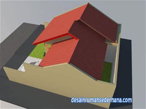 gambar desain rumah  lantai rumah hook kpr type