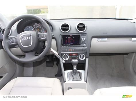 audi a3 dashboard 2012 audi a3 2 0t quattro light gray dashboard photo