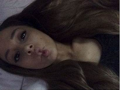 Ariana Grande Selfie Makeup Duckface Duck Fishface