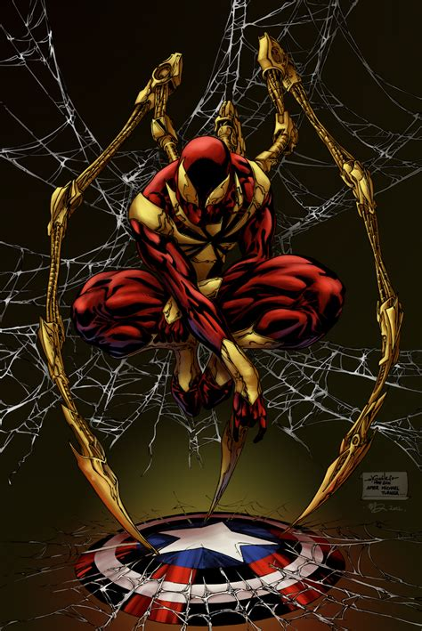 Iron Spider Armor  Iron Man Wiki  Fandom Powered By Wikia