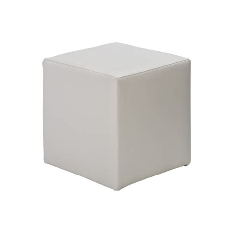 white cube ottoman table and chair hire darwin territory events hire