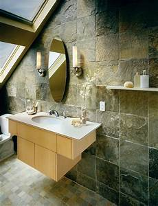 small bathroom tile ideas pictures With natural slate bathroom tiles