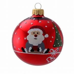 Boule De Noel Personnalisee : boule de no l decoration de sapin eminza ~ Carolinahurricanesstore.com Idées de Décoration