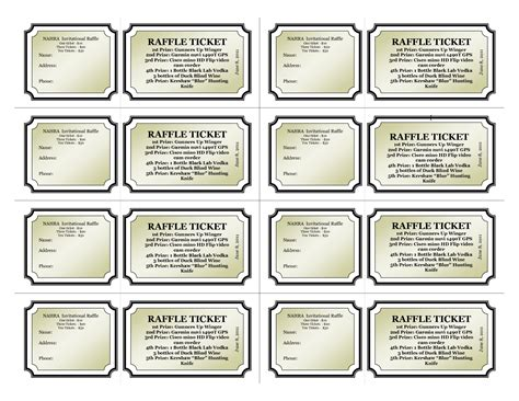 numbered raffle ticket template template for raffle tickets with numbers portablegasgrillweber