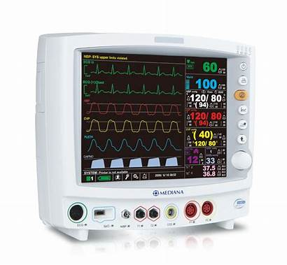 Patient Monitoring System Monitor Icu Mediana Health