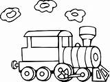 Train Coloring Pages Steam Kid Railroad Clipartmag sketch template