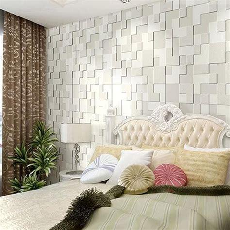 simple  moderne salon  mosaique papier peint