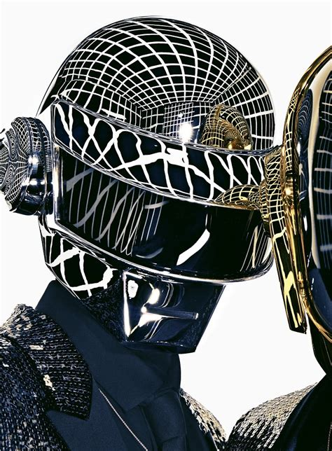Daft Punk Sports Saint Laurent's Designs for GQ's May 2013 ...