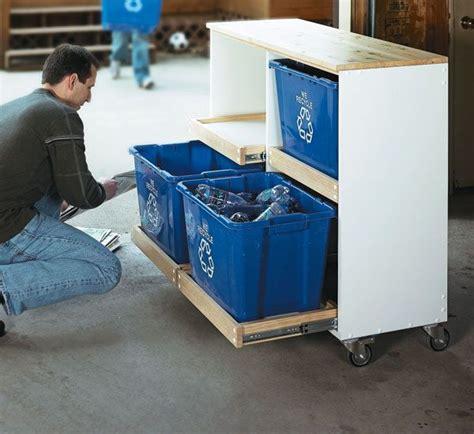ideas  recycling center  pinterest recycling bins rustic recycling bins