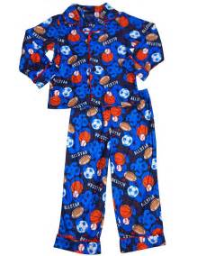 falls creek boys sleeve allstar sports pajamas blue toddler boy sleepwear
