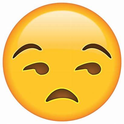 Draining Emoji Unamused Aos Annoyed Face Looking