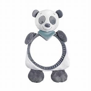 Miroir De Voiture Bébé : troisi me il panda doudou et miroir de voiture s curit b b ~ Louise-bijoux.com Idées de Décoration