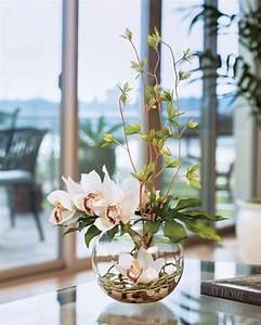 Remarkably, Lifelike, Cymbidium, Silk, Orchid, U0026, Monstera, Leaf, Artificial, Flower, Arrangement, At, Petals