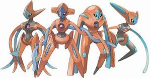 Pokemon Deoxys All Forms Images | Pokemon Images