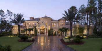 Mediterranean Style House Plans Pictures by 2 Story Tuscan Stucco House Plans New Custom Home