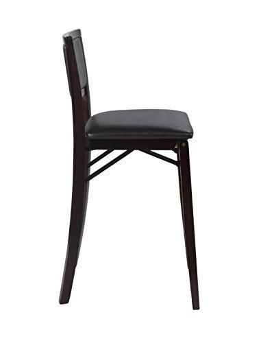 linon home decor keira pad back folding counter stool 24