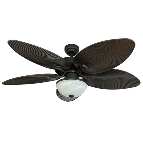 outdoor ceiling fan no light shop palm coast 52 in bronze downrod or close mount indoor