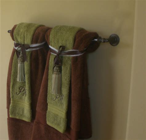 bathroom towel hanging ideas home decor bathroom decorative towels on pinterest decorative towels bathroom towels and