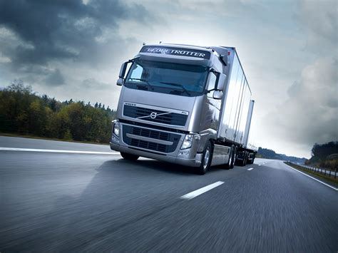 volvo heavy volvo trucks emergency braking at its best